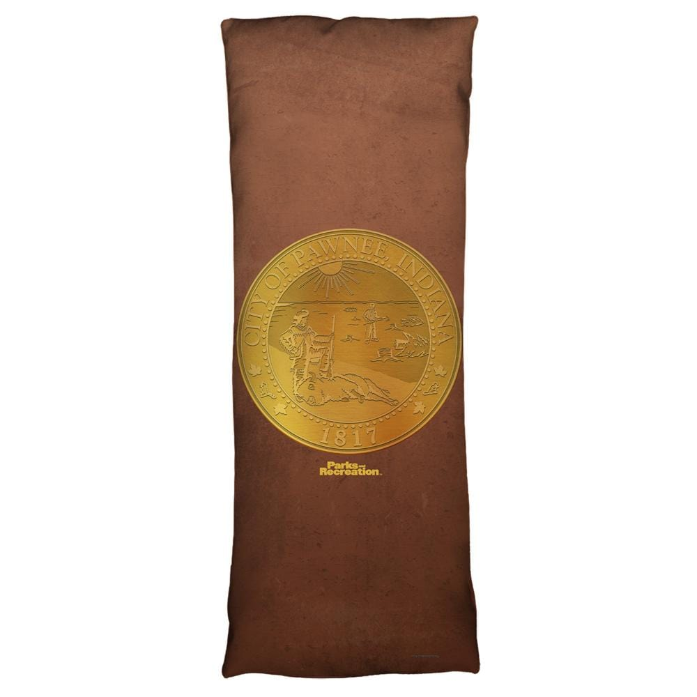 Parks And Rec - Pawnee Seal Body Pillow