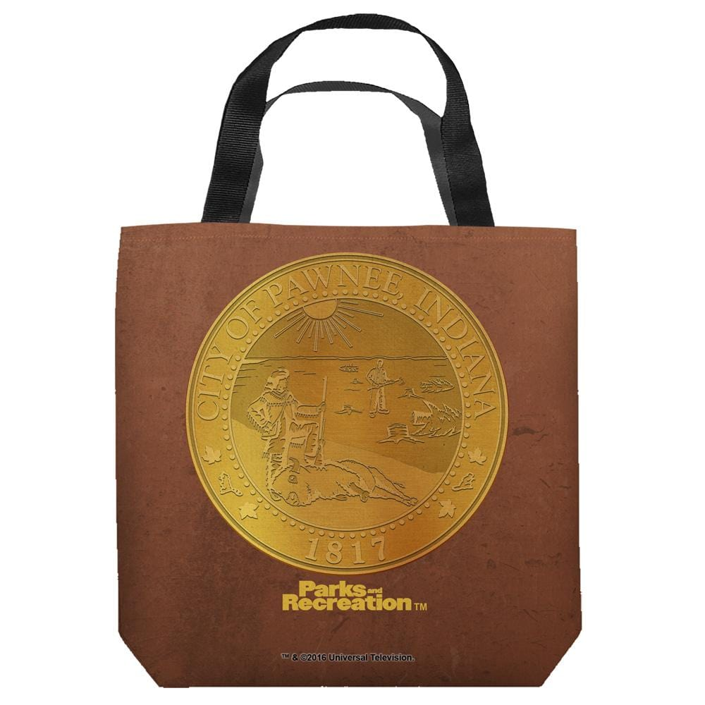 Parks And Rec - Pawnee Seal Tote Bag