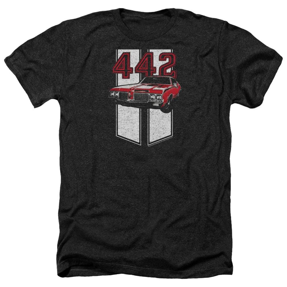 Oldsmobile - 442 Adult Regular Fit Heather T-Shirt