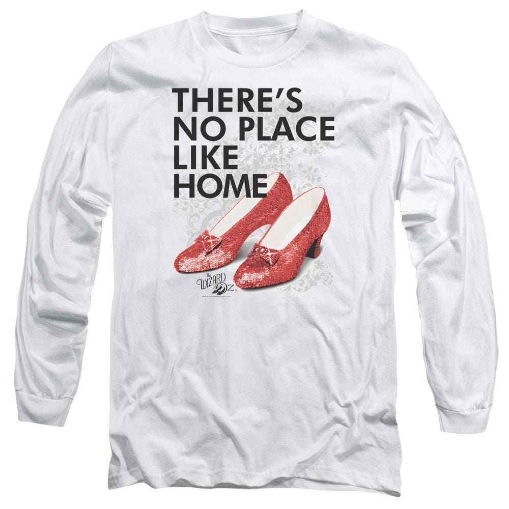 Wizard Of Oz No Place Like Home Adult Long Sleeve T-Shirt