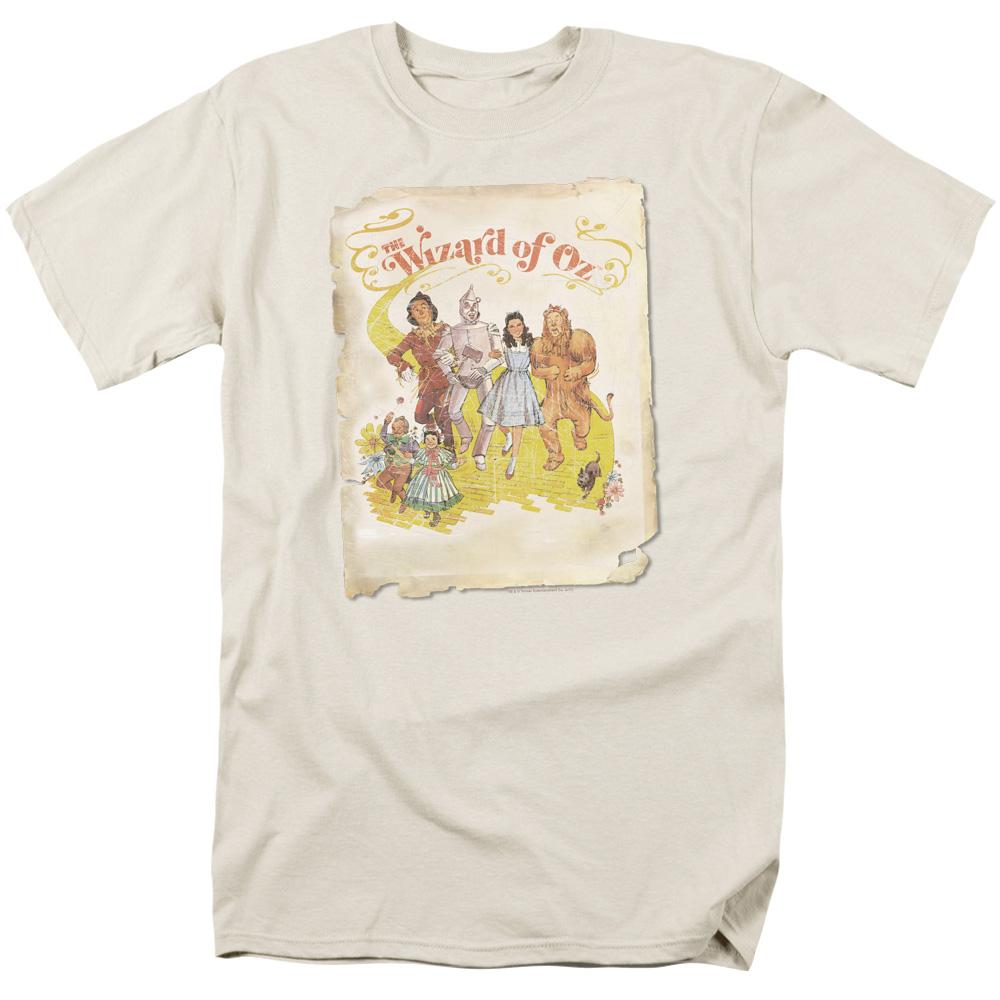 Wizard Of Oz Poster Adult Regular Fit T-Shirt