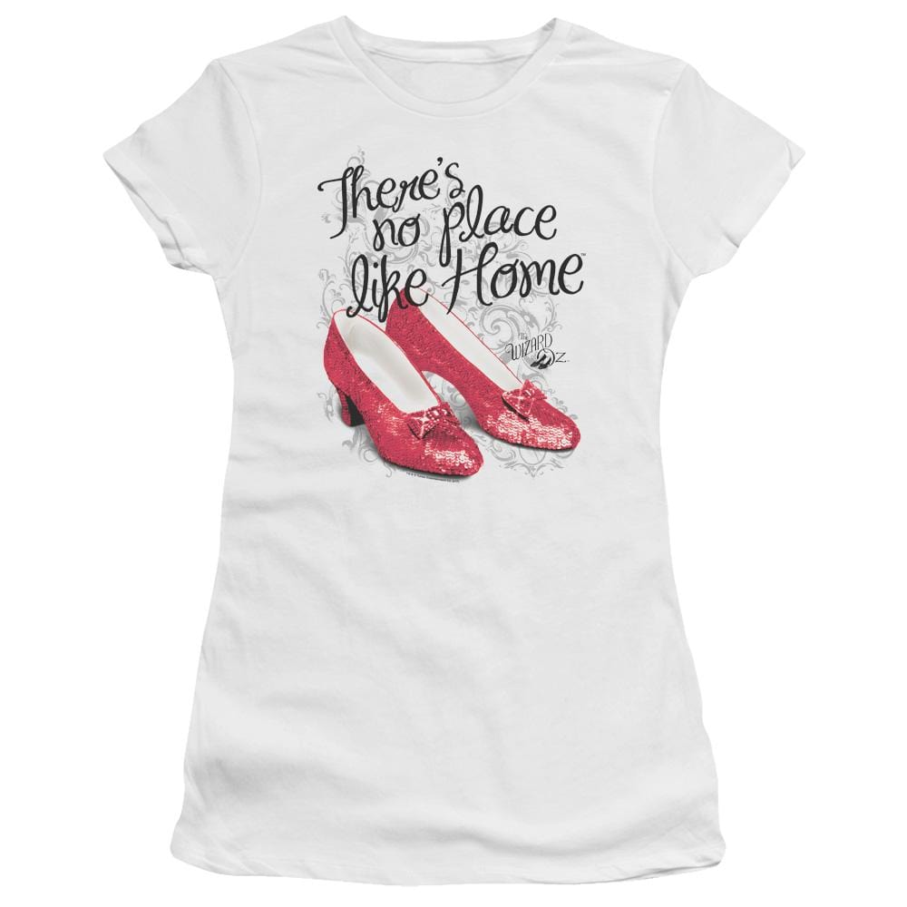 Wizard Of Oz Ruby Slippers Junior T-Shirt