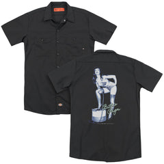 Bettie Page Mistress Adult Work Shirt