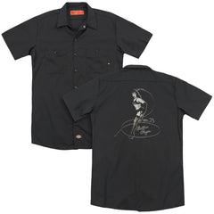 Bettie Page Whip It! Adult Work Shirt