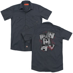 Bettie Page Exposure Adult Work Shirt