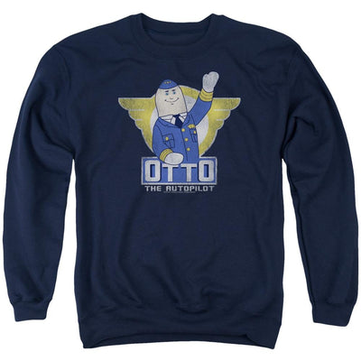 Airplane Otto Men's Crewneck Sweatshirt