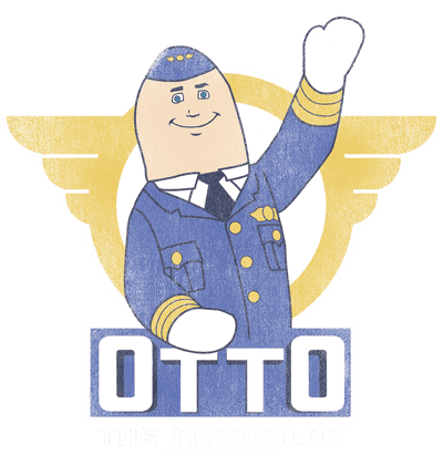 Airplane Otto Kid's T-Shirt (Ages 4-7)