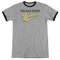 Bad News Bears - Logo Adult Ringer T- Shirt