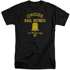 Bad News Bears Chico's Bail Bonds Adult Tri-Blend T-Shirt