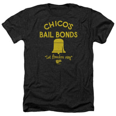 Bad News Bears Chico's Bail Bonds Adult Regular Fit Heather T-Shirt