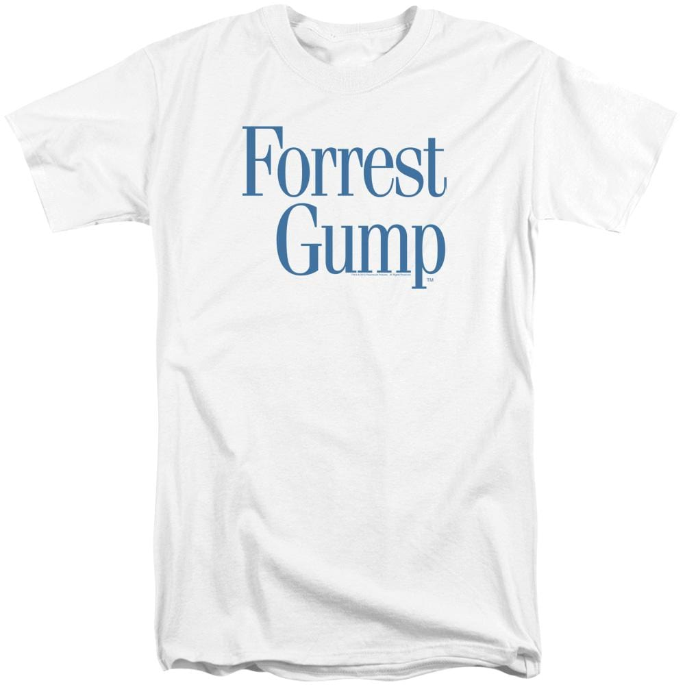 Forrest Gump Logo Adult Tall Fit T-Shirt