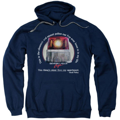 Beverly Hills Cop Nicest Police Car Pullover Hoodie