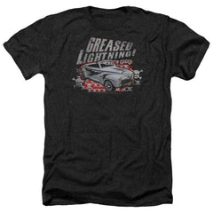 Grease Greased Lightening Adult Regular Fit Heather T-Shirt