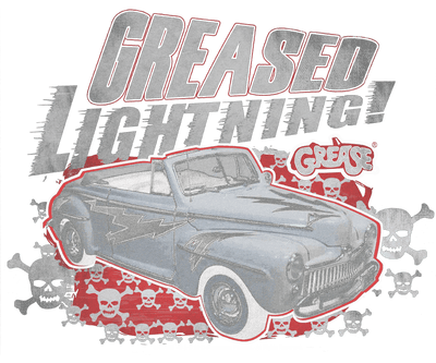Grease Greased Lightening Men's Regular Fit T-Shirt