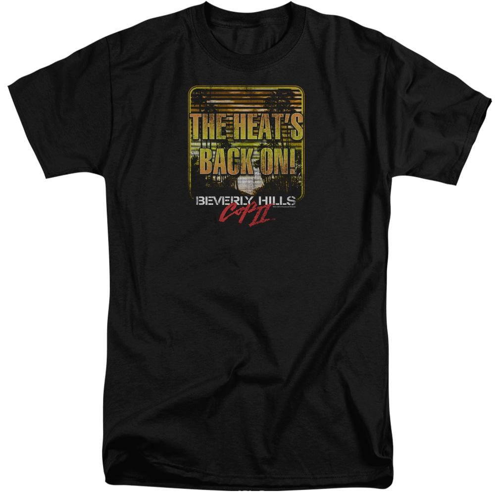 Bhc Iii The Heats Back On Adult Tri-Blend T-Shirt