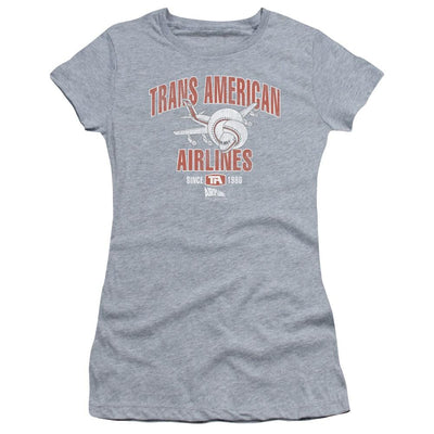 Airplane Trans American Juniors T-Shirt