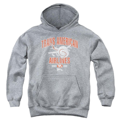 Airplane Trans American Youth Hoodie (Ages 8-12)
