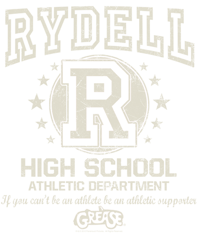 Grease Rydell High Men's Regular Fit T-Shirt