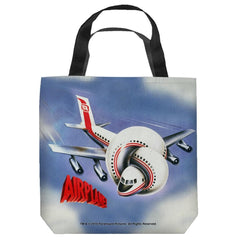 Airplane - Poster Tote Bag