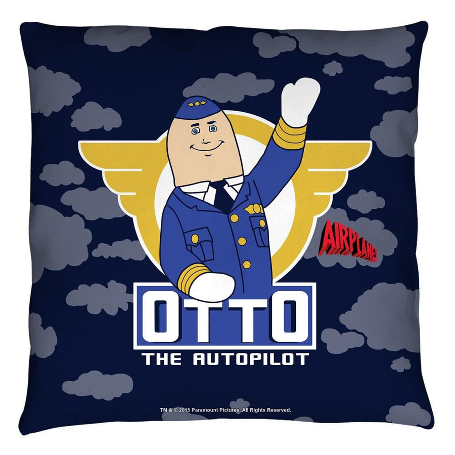 Airplane Otto Throw Pillow