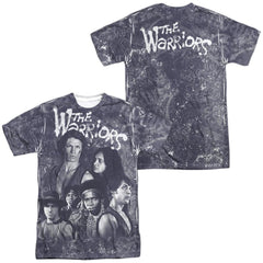 Warriors - Moody Streets Adult All Over Print 100% Poly T-Shirt