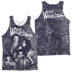 Warriors - Moody Streets Adult Tank Top