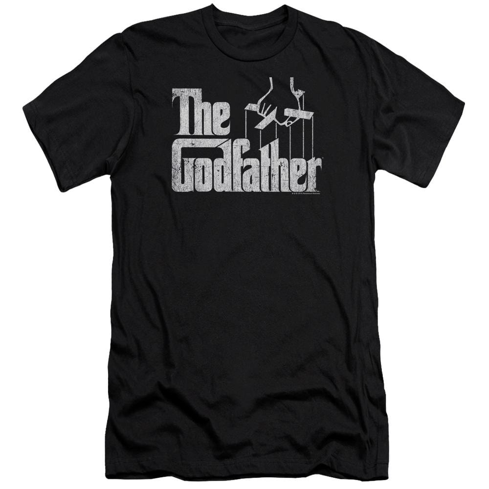 Godfather Logo Premium Adult Slim Fit T-Shirt