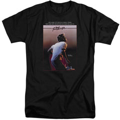Footloose Poster Adult Tall Fit T-Shirt