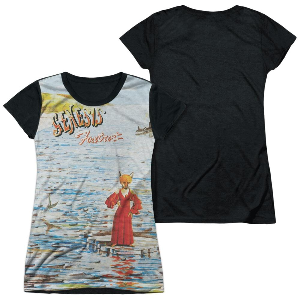 Genesis - Foxtrot Cover Junior All Over Print 100% Poly T-Shirt