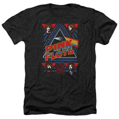 Pink Floyd Dark Side Adult Regular Fit Heather T-Shirt