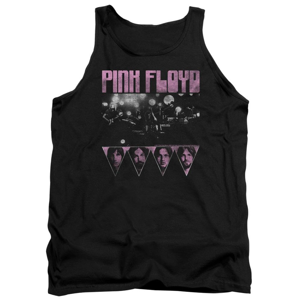 Pink Floyd Pink Four Adult Tank Top