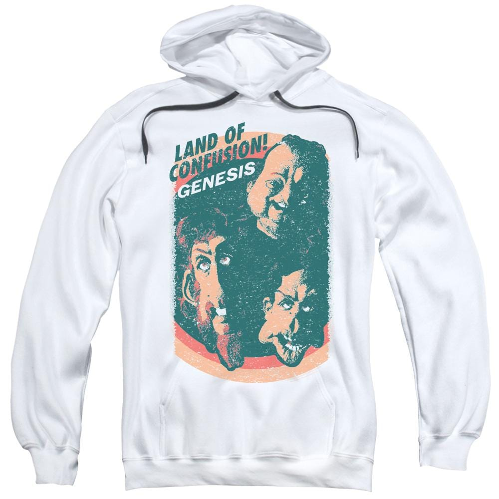 Genesis Land Of Confusion Adult Pull-Over Hoodie