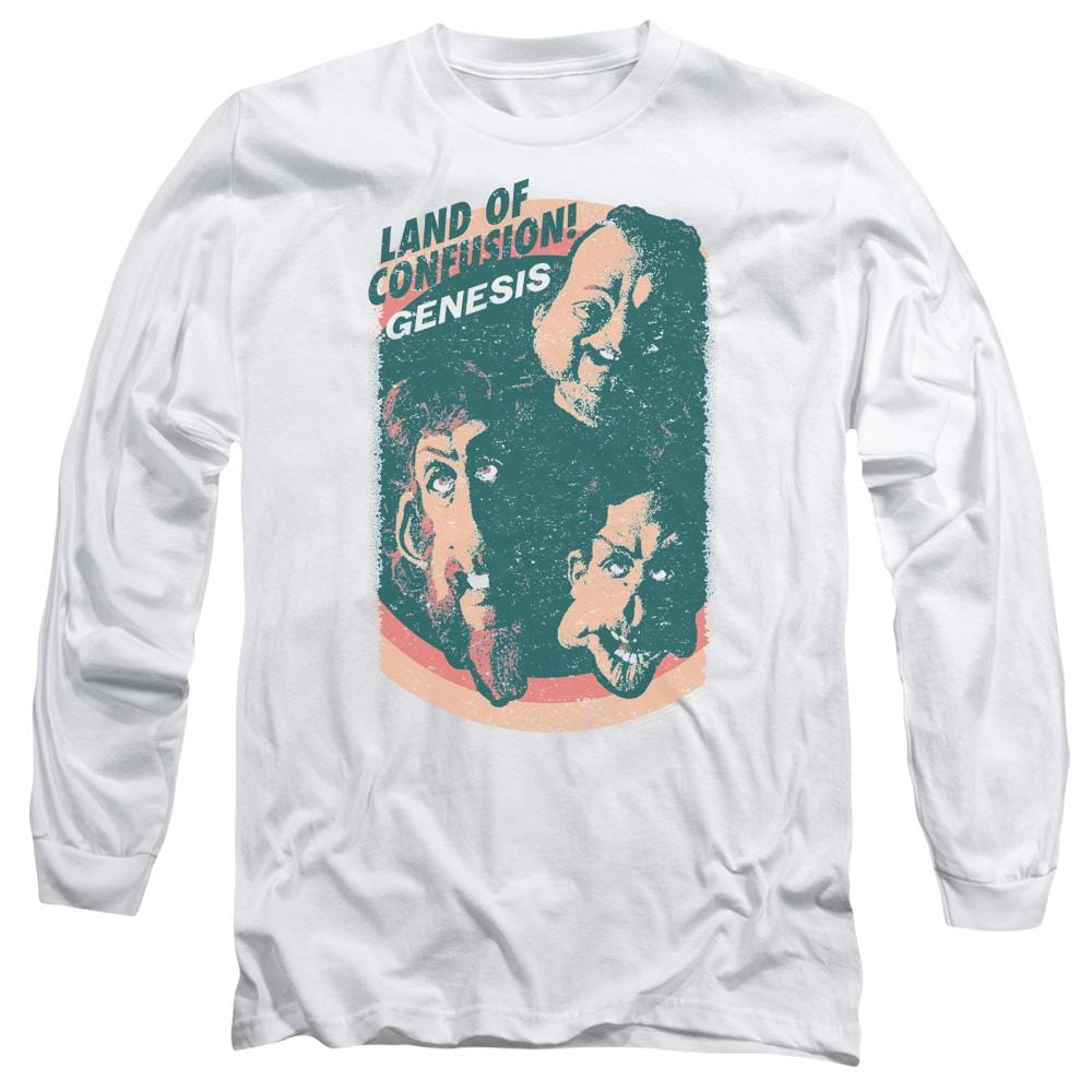 Genesis Land Of Confusion Adult Long Sleeve T-Shirt