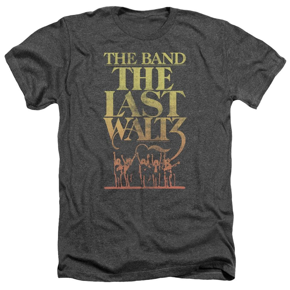 The Band The Last Waltz Adult Regular Fit Heather T-Shirt