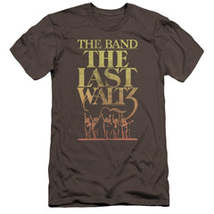 The Band The Last Waltz Premium Adult Slim Fit T-Shirt