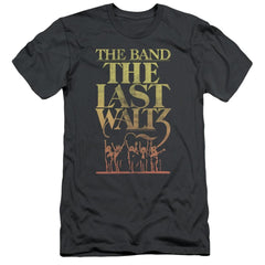 The Band The Last Waltz Adult Slim Fit T-Shirt