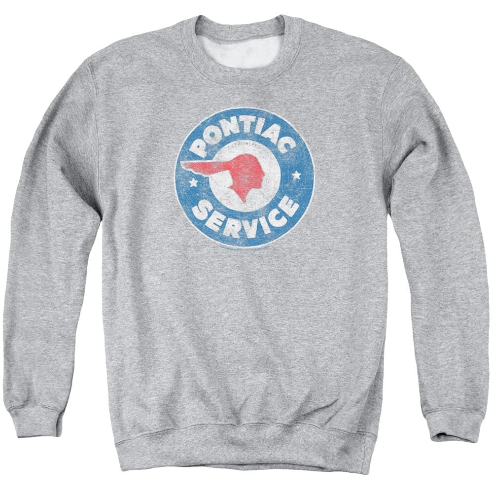 Pontiac DIVISION Licensed Adult Long Sleeve T-Shirt S-3XL