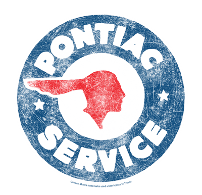 Pontiac Vintage Pontiac Service Youth T-Shirt (Ages 8-12)