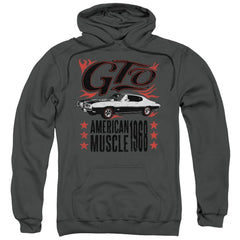 Pontiac - Gto Flames Adult Pull-Over Hoodie