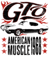 Pontiac Gto Flames Juniors T-Shirt