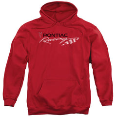 Pontiac - Red Pontiac Racing Adult Pull-Over Hoodie