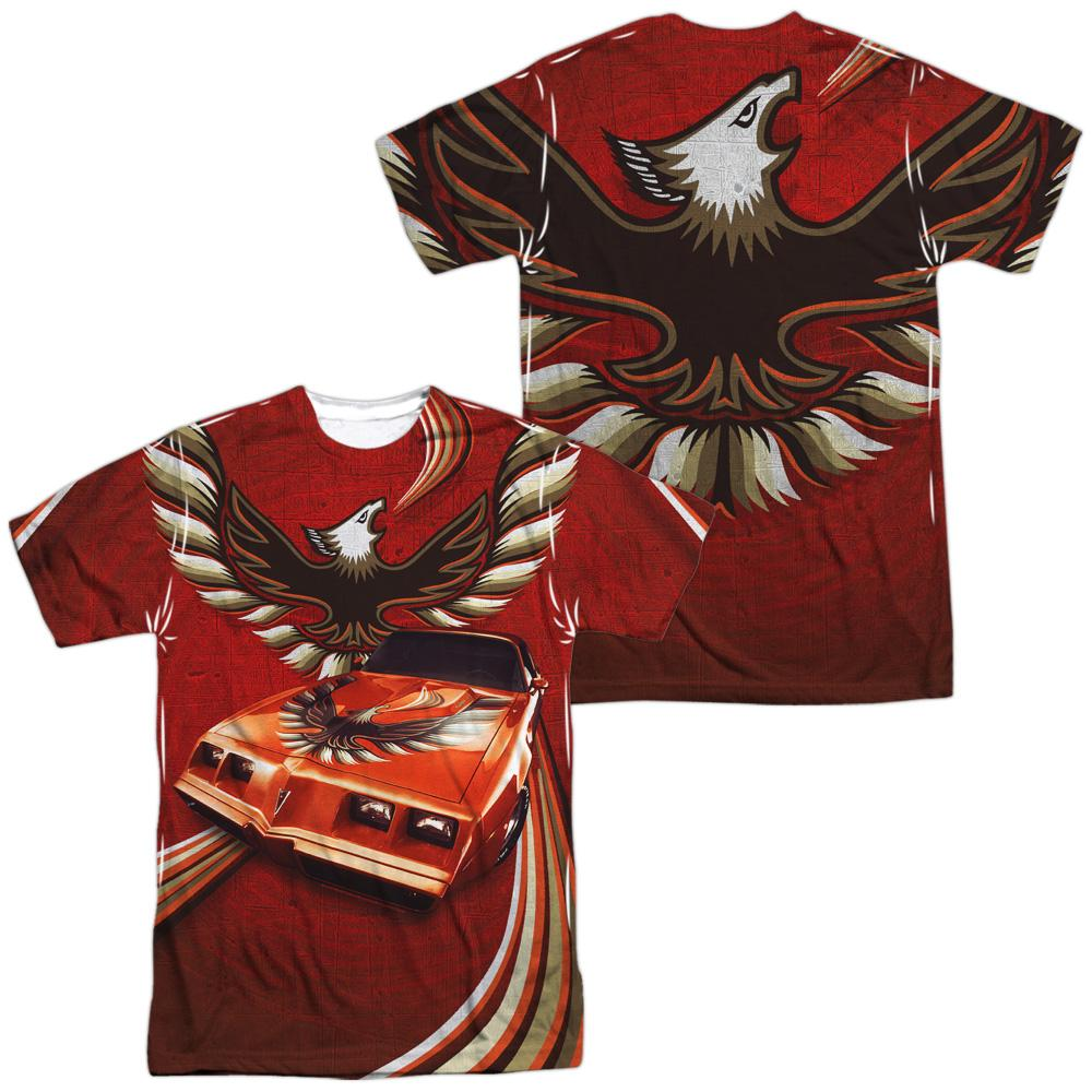 Pontiac - Firebird Flames Adult All Over Print 100% Poly T-Shirt