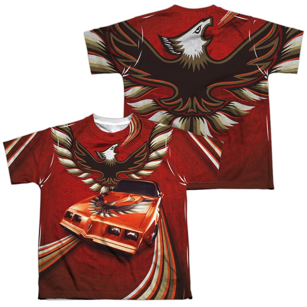 Pontiac - Firebird Flames Youth All Over Print 100% Poly T-Shirt