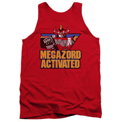 Power Rangers Megazord Activated Adult Tank Top