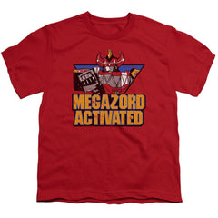 Power Rangers Megazord Activated Youth T-Shirt