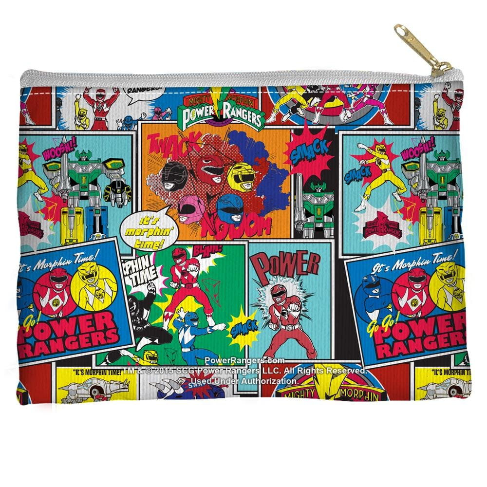 Power Rangers - Pattern Straight Bottom Pouch