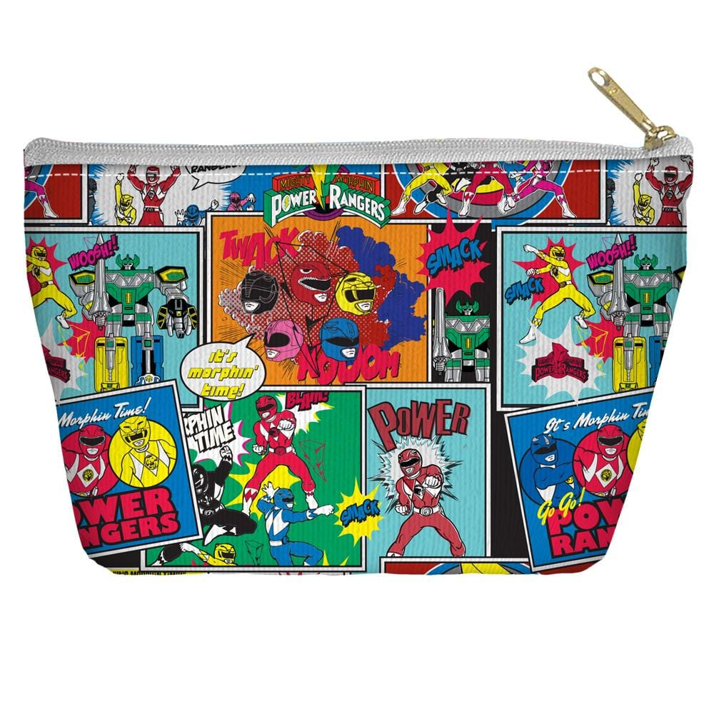 Power Rangers - Pattern Tapered Bottom Pouch
