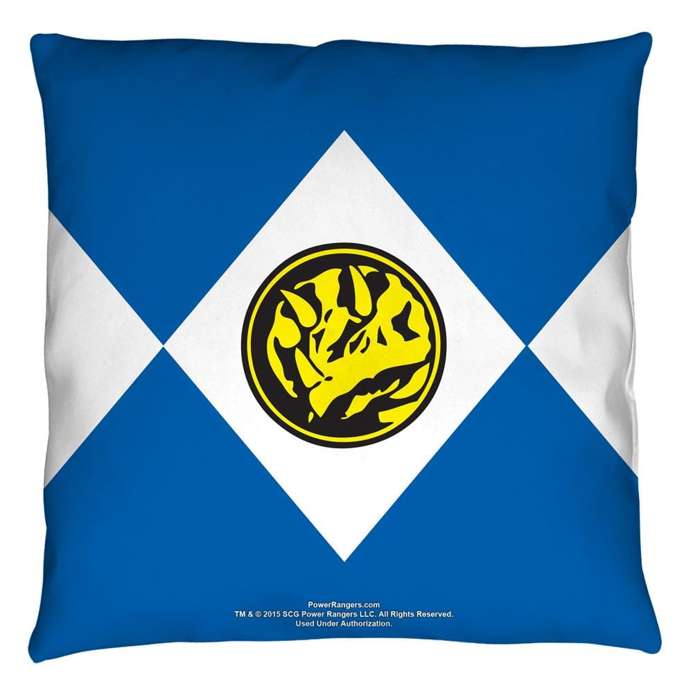 Power Rangers - Blue Ranger Throw Pillow