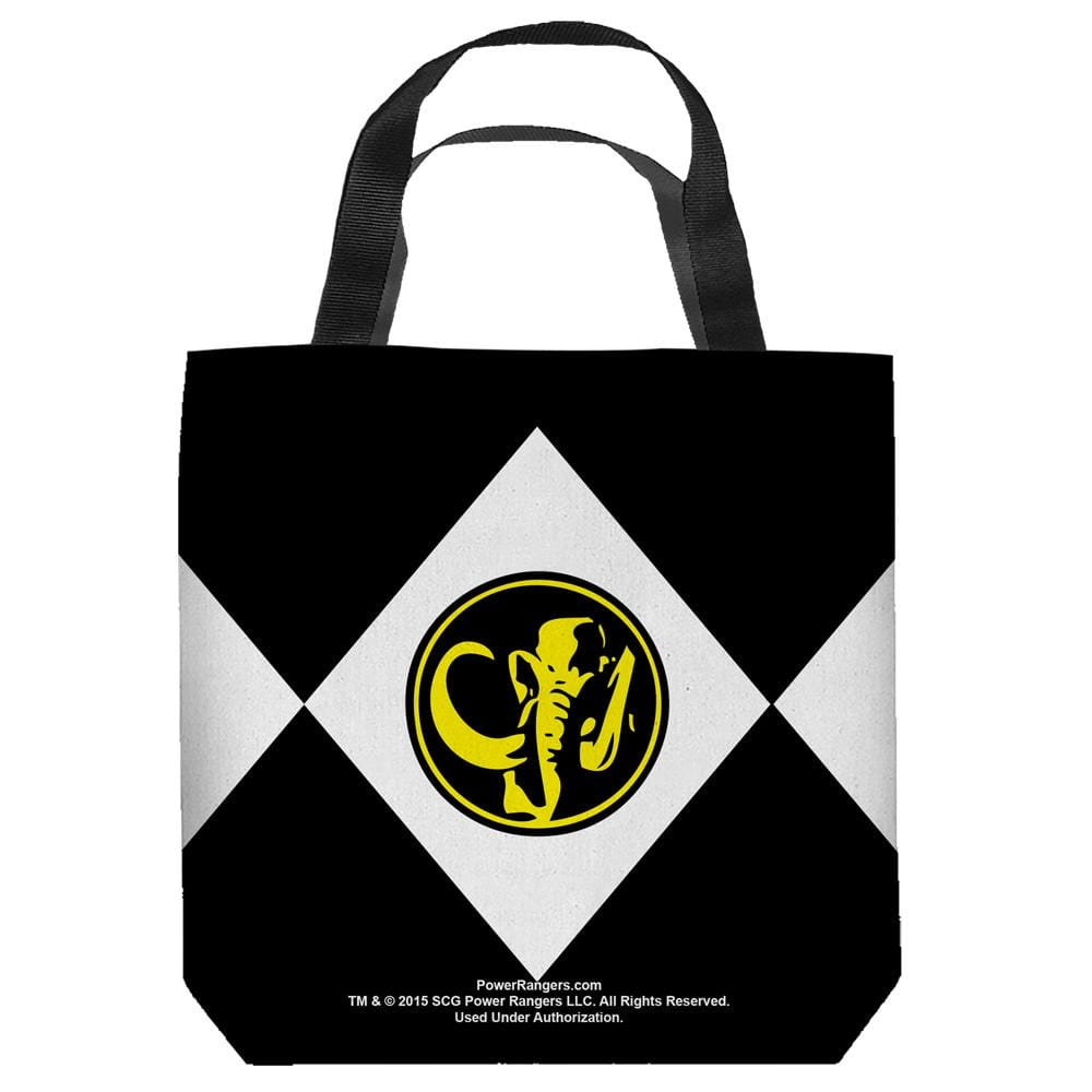 Power Rangers - Black Ranger Tote Bag