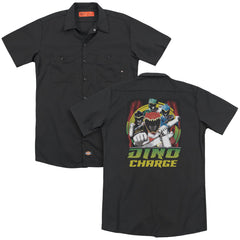 Power Rangers Dino Lightning Adult Work Shirt